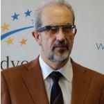 Rector de la Universidad de Salamanca. Daniel Hernández Ruipérez
