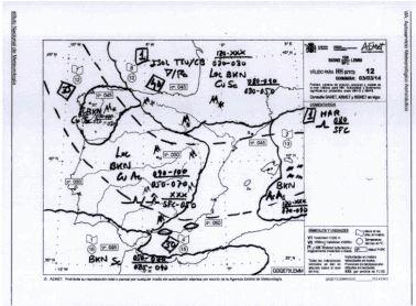 mapa metereologico